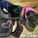 Cheekys Hunters Heart Pink Cap with Arrow Detailing Underbill