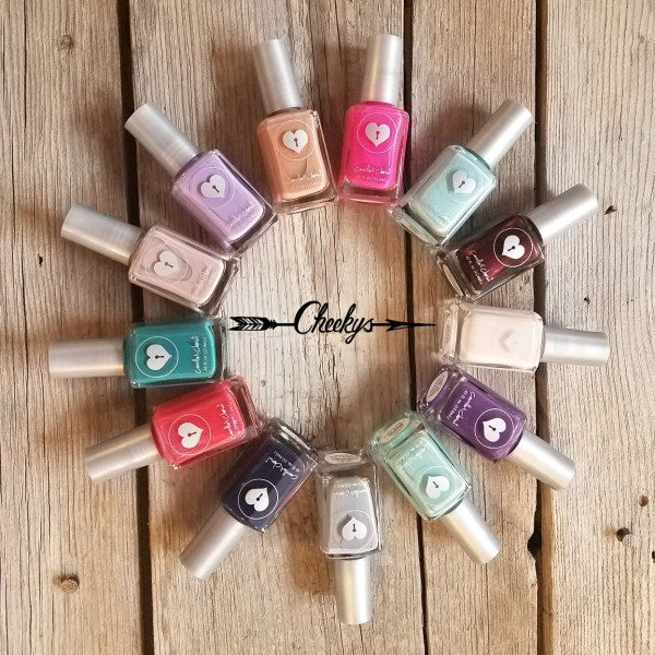 An Assortment of Camilles Nail Polish Colors - 3 Bottles