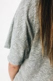 The Silence Top- Grey