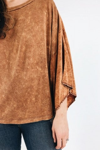 Forget Me Not Top - Rust