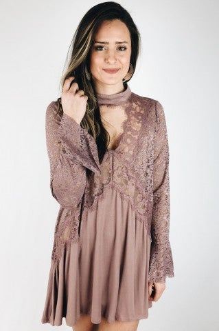 Just A Dream Dress - Mauve
