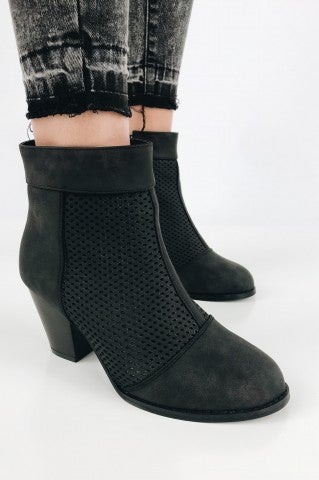 Nutcracker Bootie - Black