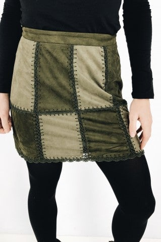 What You Need Skirt - Olive
