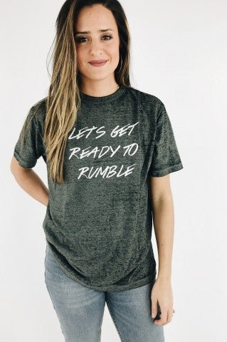 Ready To Rumble Tee