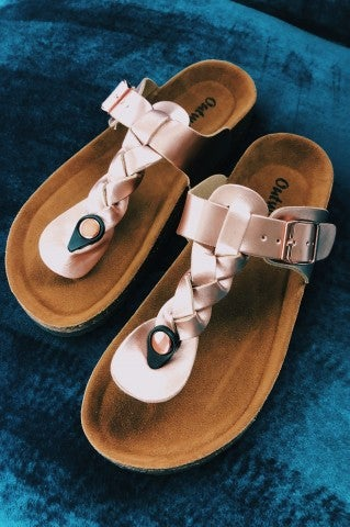 The Florence Slip On - Rose Gold
