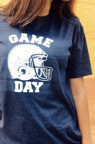Game Day Tee- Navy
