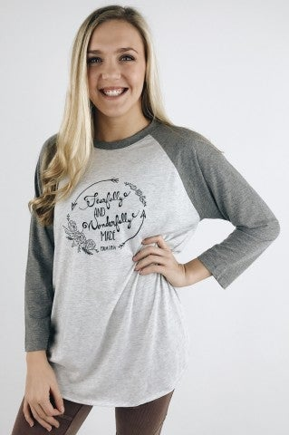 Fearfully And Wonderfully Baseball Tee