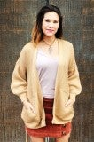 Wrap Around Cardi - Light Brown