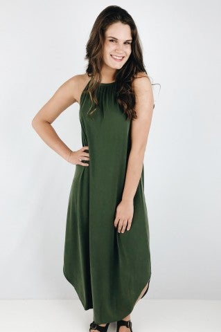 She Loves Control Dress - Olive