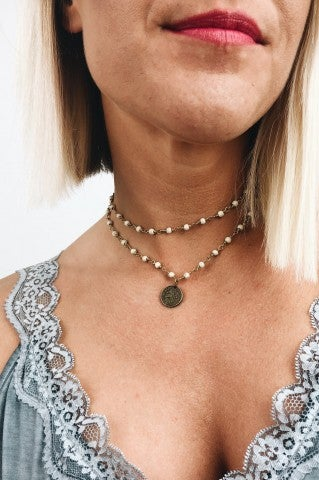 Wrap Me Up Choker - Ivory