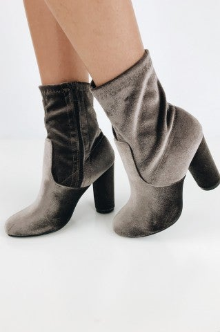 Festivity Bootie - Taupe