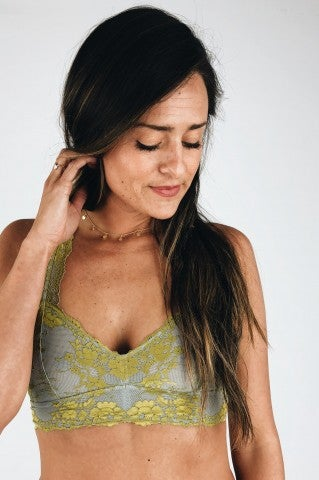 My Go To Bralette- Grey