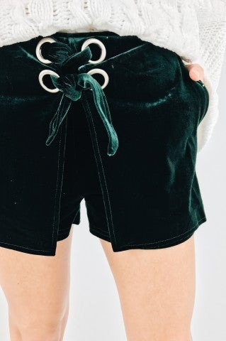 Losin' Control Shorts - Emerald
