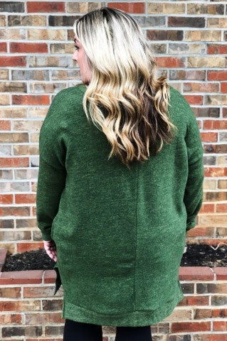 Have It All Sweater Plus - Olive