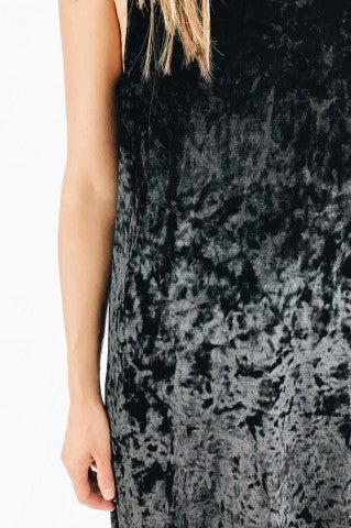 Starry Night Dress - Black