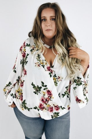 Cold River Floral Top