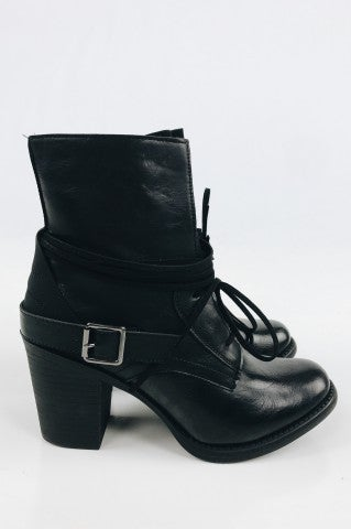 Cersei Ankle Boot - Black