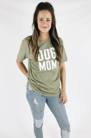 Dog Mom Statement Tee
