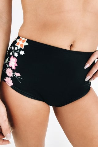 Sunset Beach High Waisted Bikini Bottom