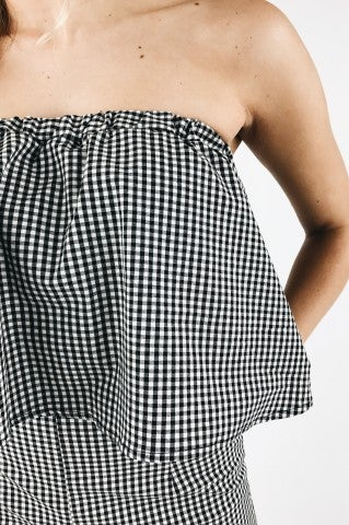 Checkered Love Top