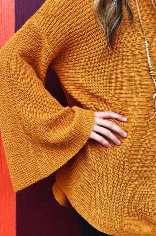 New Times Sweater - Mustard