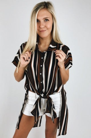 All The Stars Striped Top