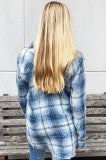 More Like Her Flannel - Blue