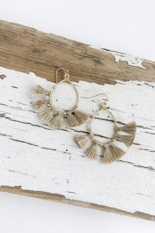 Fan Flare Earrings