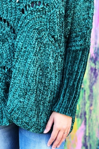 Maggie Sweater - Green