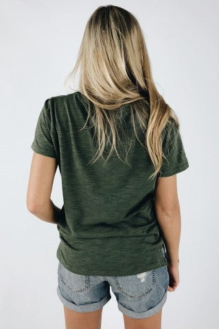 Deep Dream Top - Olive