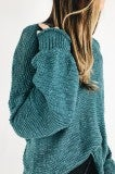 All Mine Spring Sweater - Teal