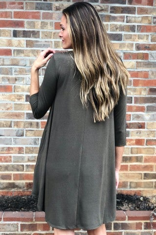 Mary's Favorite Dress - Olive