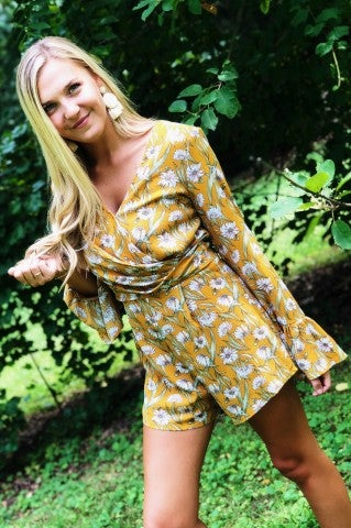 Reaching For The Sun Romper