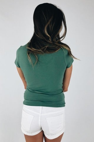 Love Dove Tee - Sage Green