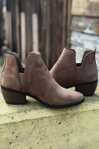 Living the Dream Bootie - Taupe