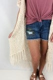 Toes in the Sand Crotchet Kimono