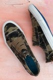 One Way Track Slip On - Camo