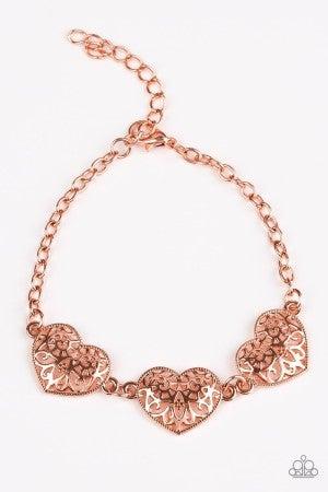 Fond Of Hearts - Copper