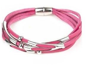 Paparazzi ♥ Modern Magnetism - Pink ♥ Bracelet