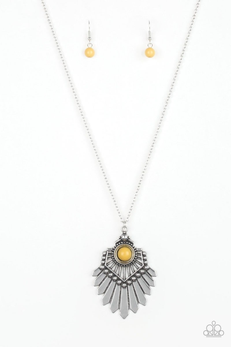Inde-PENDANT Idol - Yellow
