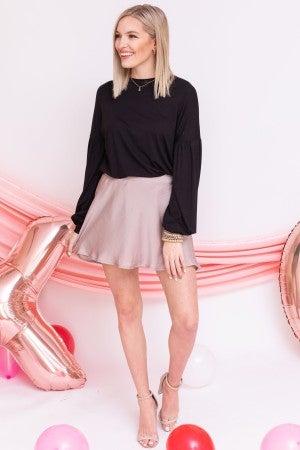Slink into the Season Skirt