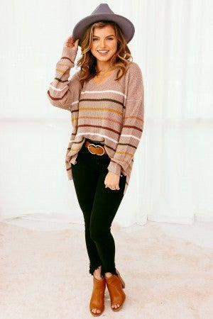 Color in the Lines Sweater