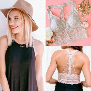 Lace to Layer Bralette