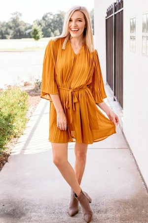 Golden Sunrise Dress