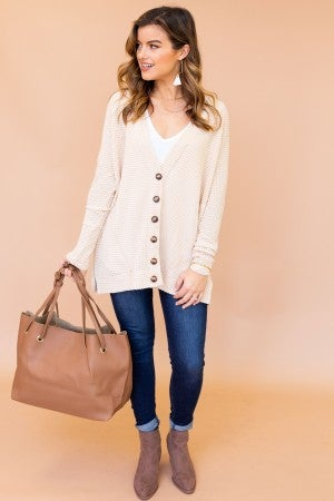 Button Down To It Cardigan