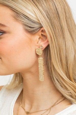 A Golden Era Earring