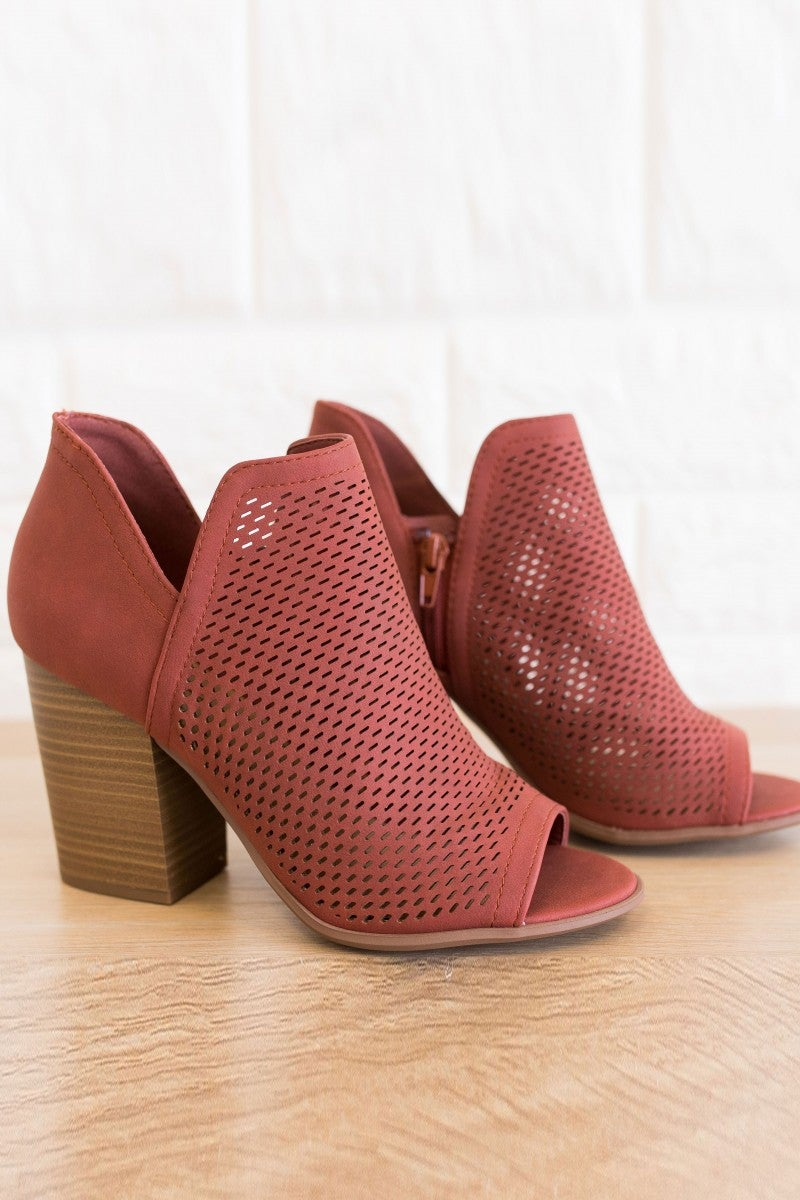 Perfectly Perforated Bootie