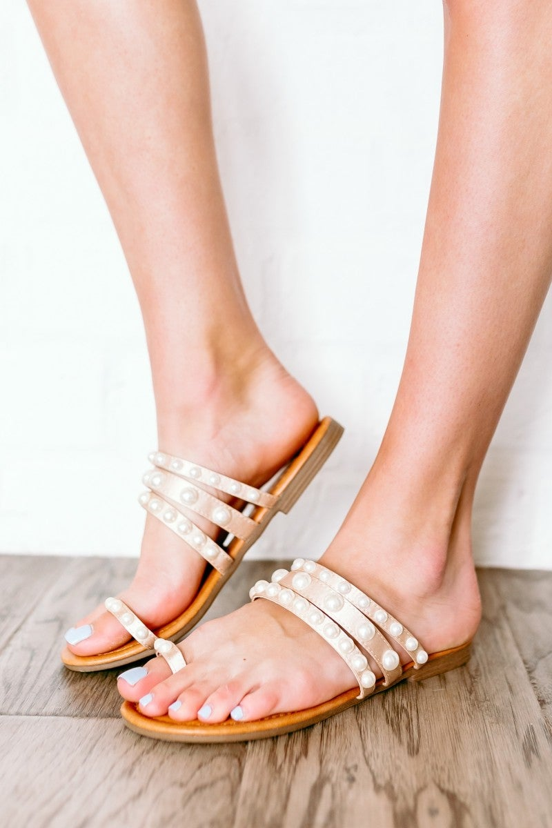 Pearl of a Girl Sandal