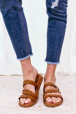 Braid My Day Sandal