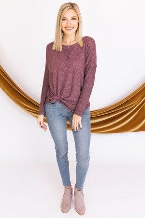 A Little Contrast Sweater